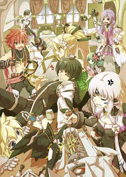 Tags: Anime, Servati (Szka), Elsword, Rena (Elsword), Deadly Chaser (Chung), Chung (Elsword), Eve (Elsword)