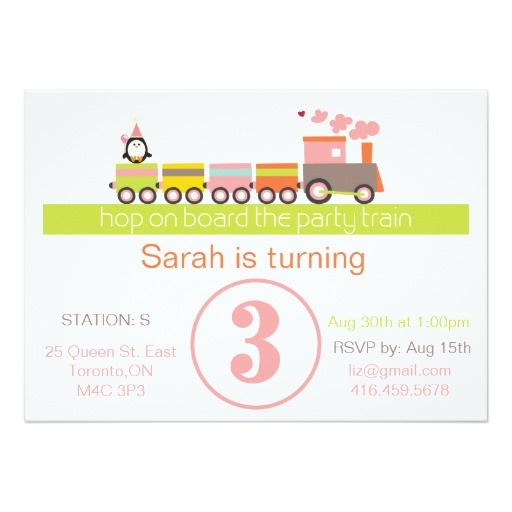 388 best 3rd Birthday Party Invitations images on Pinterest