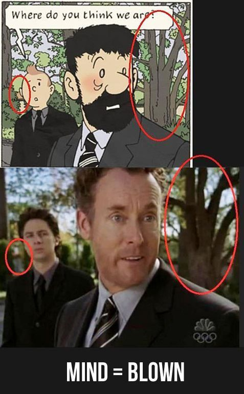 Scrubs TV Show Memes | ... scrubs and tintin maybe the artist for tintin is a fan of scrubs hype