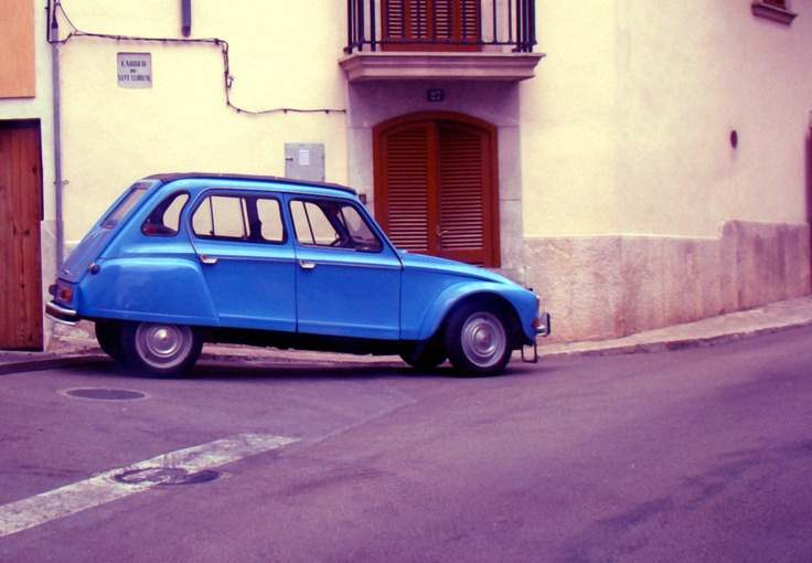 Citroen Dyane in Spain by trumsi