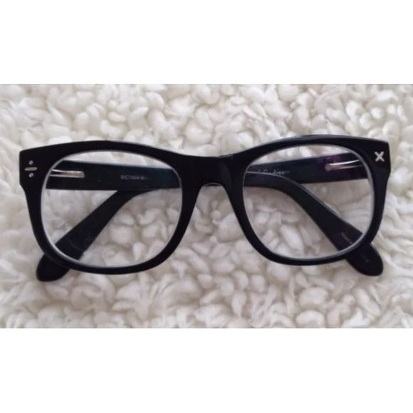 Derek cardigan black eyeglass frames Very nice geek ...