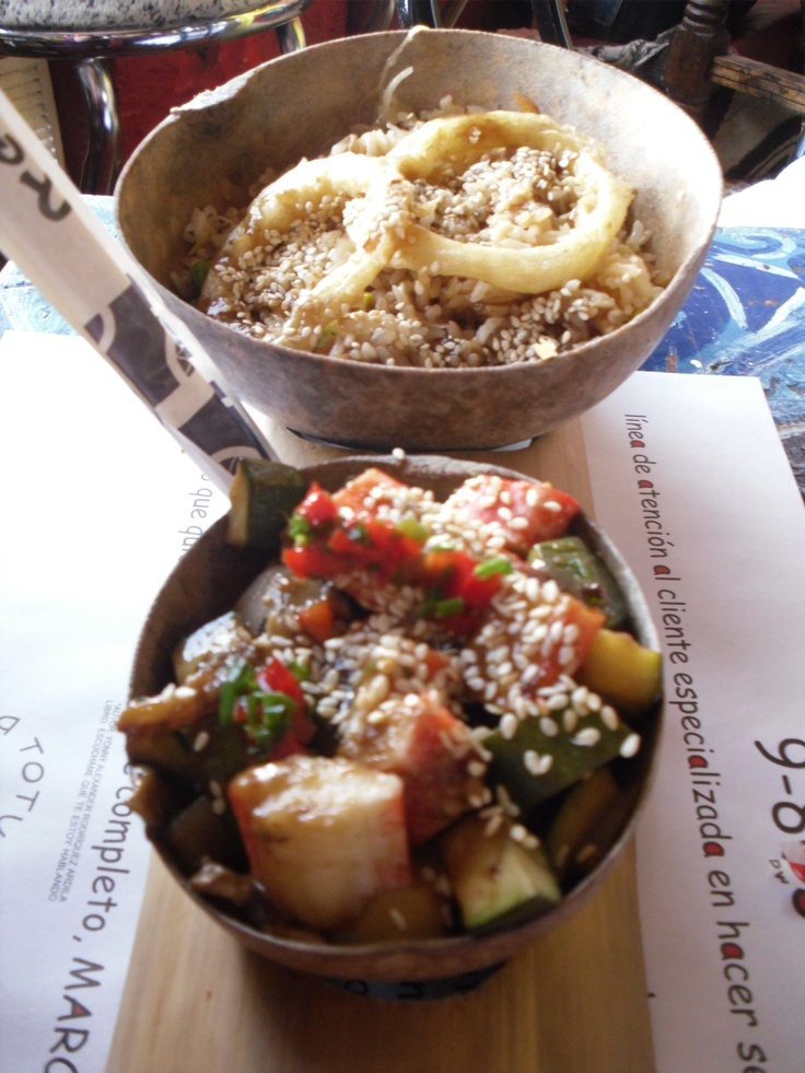 Totuma restaurant. Japanese food with Colombian taste