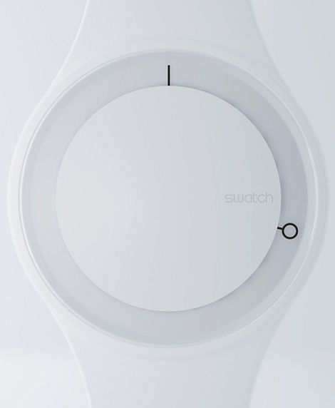 watch, time, clock, white, minimal, clean lines, circular, shape