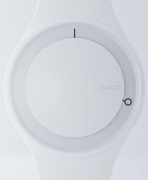 Hoop concept watch by Simone Savini.