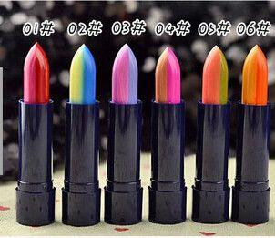 6pcs Color lipstick lipstick lip bite