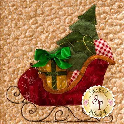 Christmas Keepsakes BOM - Block of the Month - Laser Cut - Holiday - Shabby Fabrics