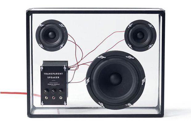 The Transparent Speaker - Stockholm's People People design studio present a wireless, modular home sound system