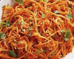 Grated Carrot Salad Recipe is very colorful and healthy salad recipe. Gajar is rich in vitamins and fiber. It is made of gajar mixed with pea and chili.
