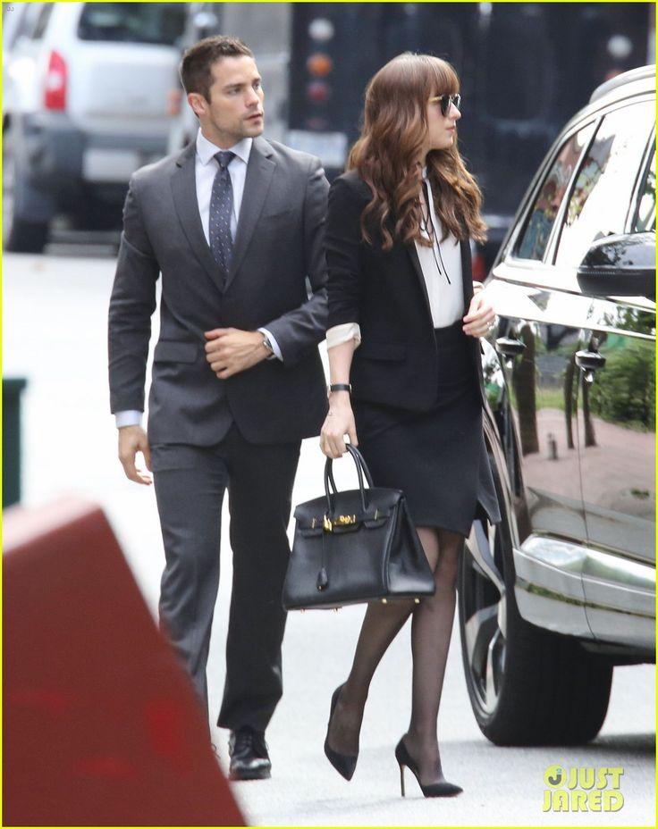 Jamie Dornan & Dakota Johnson Film New 'Fifty Shades' Scene with Brant Daugherty! | jamie dornan dakota johnson fifty shades scene brant daugherty 01 - Photo