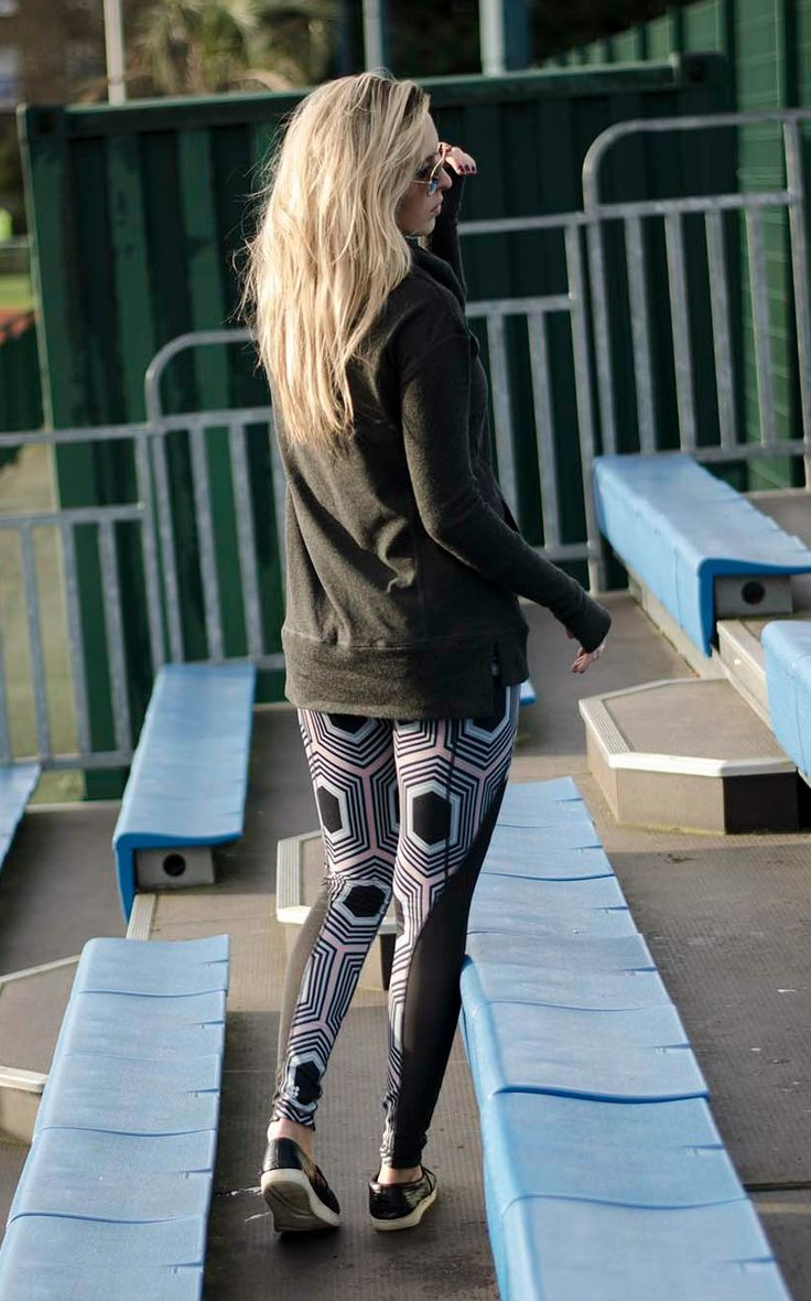 Statement leggings are a must-have for your workout and beyond.