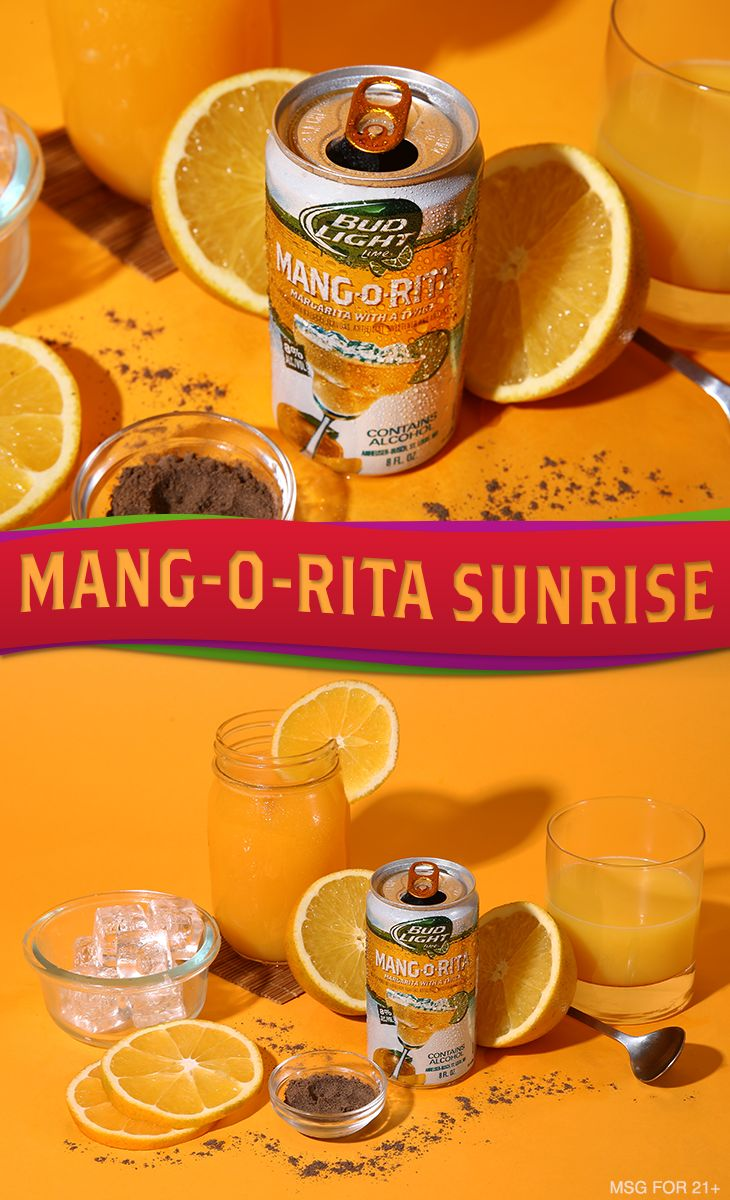 Beach weather may be over, but this classic drink recipe on the rocks will take you right back to summer.   Ingredients 4-6 oz Mang-O-Rita 2 oz Pineapple Juice .25 oz Grenadine  Garnish: 1/4 Orange Wheel Freshly Grated Nutmeg  Directions:1) Fill glass with ice. 2) Pour orange juice and Mang-O-Rita into glass. 3) Sink grenadine using back of bar spoon. 4) Garnish and serve.