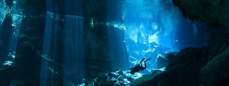 Au Mexique, le Yucatán, site de plongée grandiose : Geo.fr