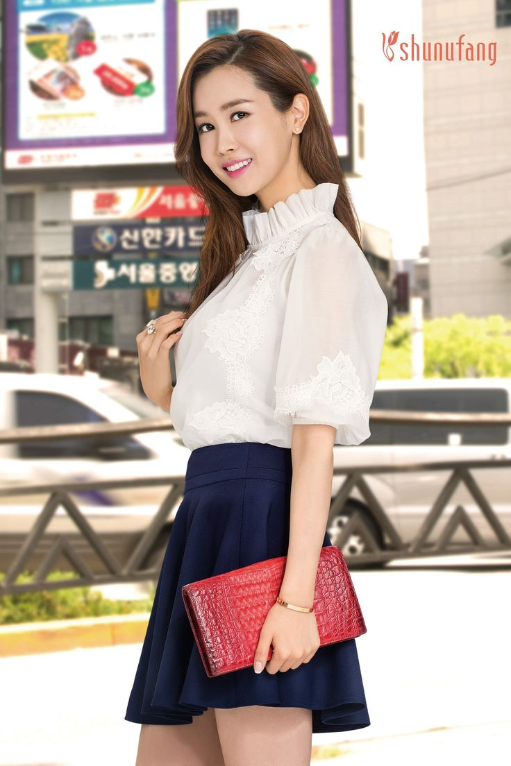 First Look on Lee Da-hae for Shunufang Fall 2014 | Crush On Da-hae