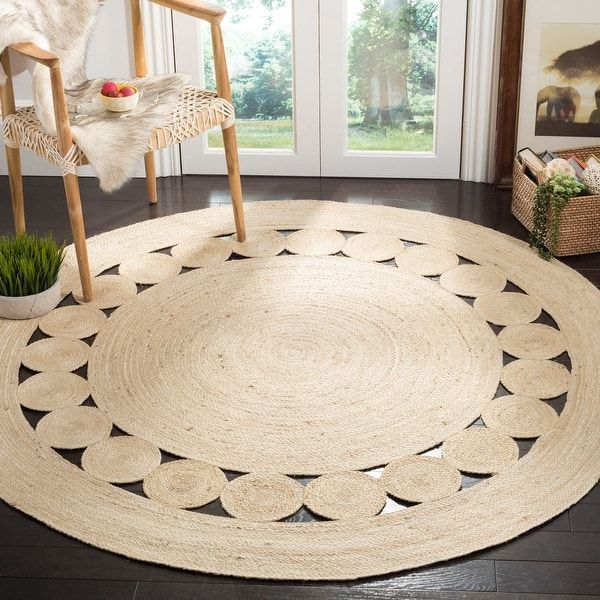 Blue 6 X 6 Palazzo Round Rug Area Rugs Esalerugs Clearance