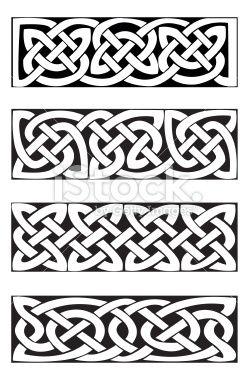 Celtic Knot Motifs (vector) Ilustraciones vectoriales sin derechos de autor