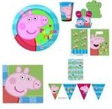 Peppa pig party merchandise