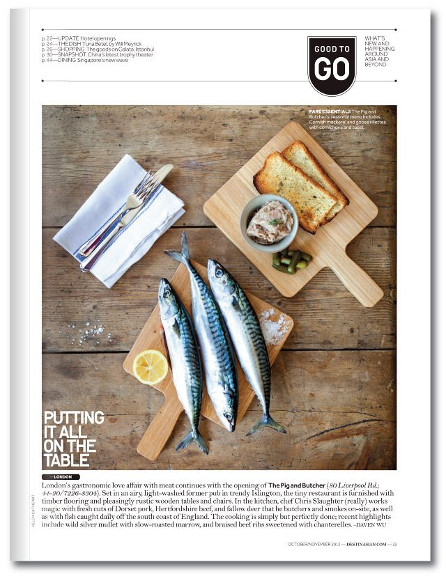 DestinAsian page - love the image, colors and spacing of the items.