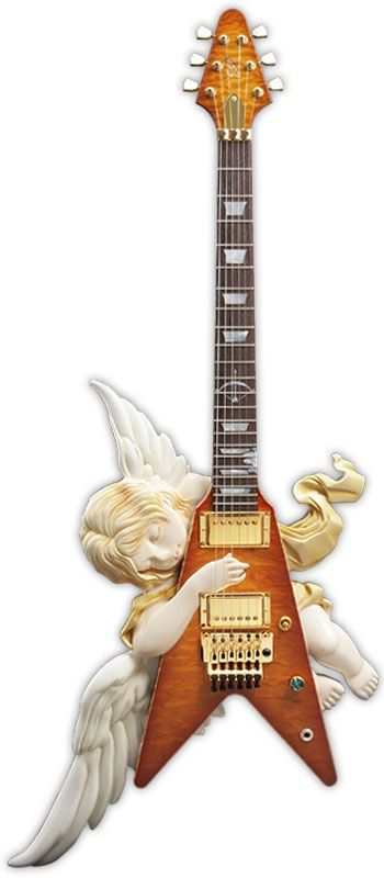 But...the angel's already playing it... I'm confused. ||  ESP Angel Classic V