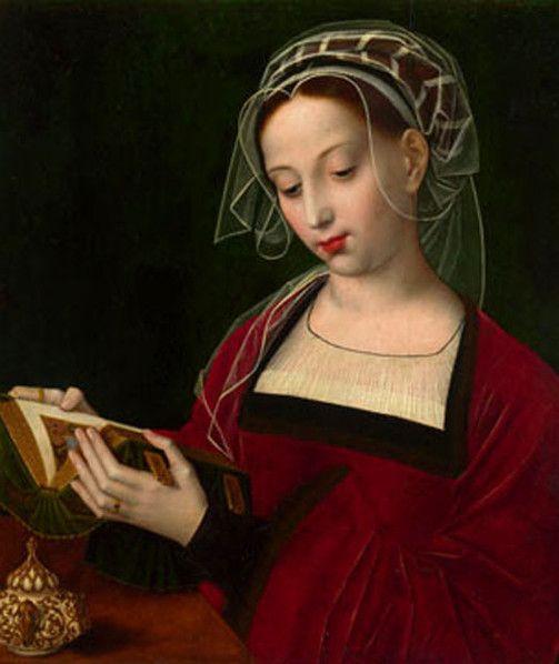 Ambrosius Benson. La lectura de María Magdalena.