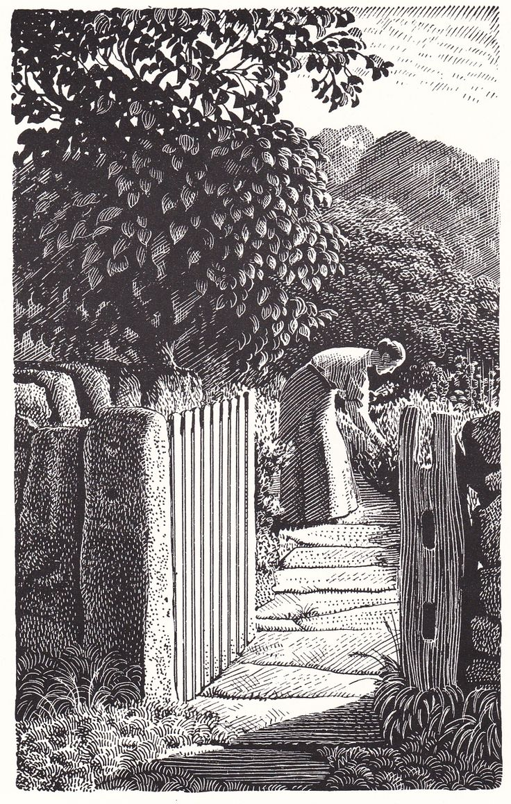 Charles Frederick Tunnicliff, wood engraving