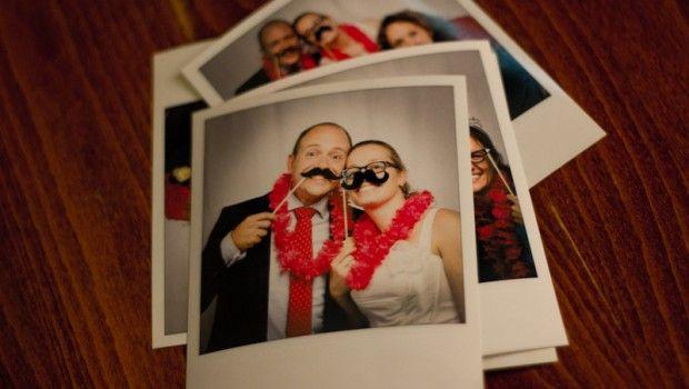Polaroid foto's op je bruiloft