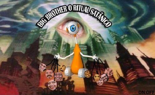 """EXTRATERRESTRE ONLINE: Big Brother """"Grande Irmão"""" revela ritual satânico - Mistério do quarto escuro!!"""