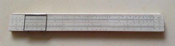 Vintage German Slide Rule Darmstadt. No. 21. Albert Nestler A.