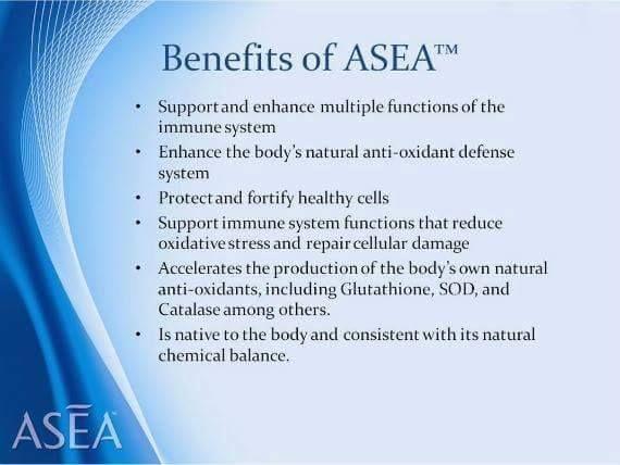 Benefits of Asea