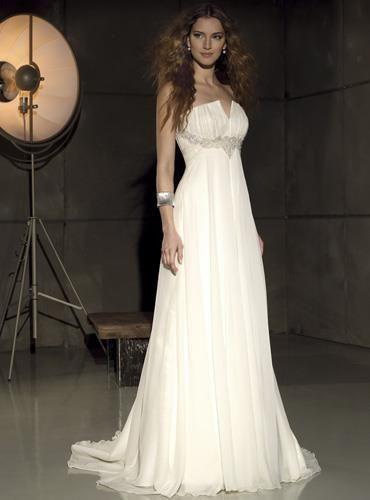 Туфли для свадебного платья в стиле ампир