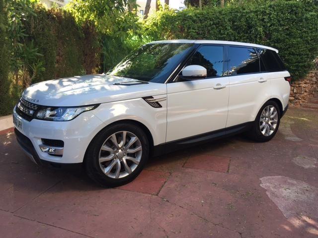 New Range Rover Sport SDV6 in Yulong White