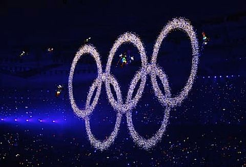 Beijing 2008 Olympics Opening flying rings