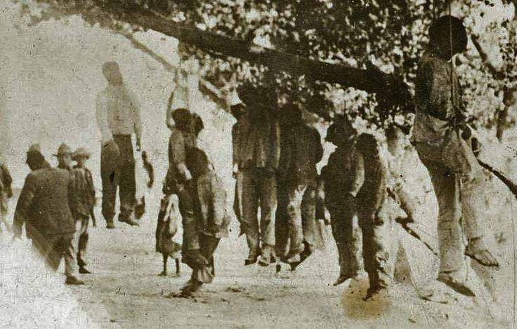 "In the last decades of the 19th century, the lynching of Black people in the South became an institutionalized method used by whites to terrorize Blacks and maintain white supremacy. From 1880 to 1940,there was deep-seated & all-pervading hatred & fear of the Negro which led white mobs to turn to ""lynch law"" as a means of social control. Lynchings—open public murders of individuals suspected of crime conceived & carried out spontaneously by a mob seem to have been an American invention."