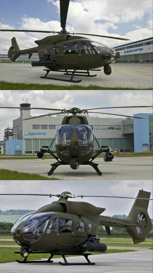 The H145M (previously known as the EC645 T2) is an economical and versatile military helicopter covering the entire spectrum of military missions, from light utility to light attack. The H145M delivers the reliability and low operating costs of Airbus Helicopters' multi-role EC145, which is a rotorcraft of reference for law enforcement organizations and military services – including the U.S. Army, with its UH-72A Lakota version.