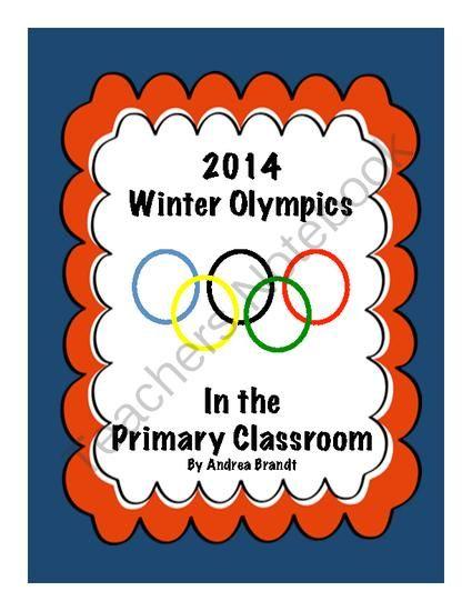 Kindergarten Readiness Calendar Arkansas : Winter olympics in the primary classroom from dre s