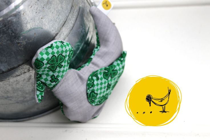 Docteur Pit-Pit trèfle vert, bouillotte sèche en forme d'oiseau, Sac réconfort chaud froid enfant,Compresse anti bobo,Sac magique,écologique de la boutique 3petitspoints sur Etsy