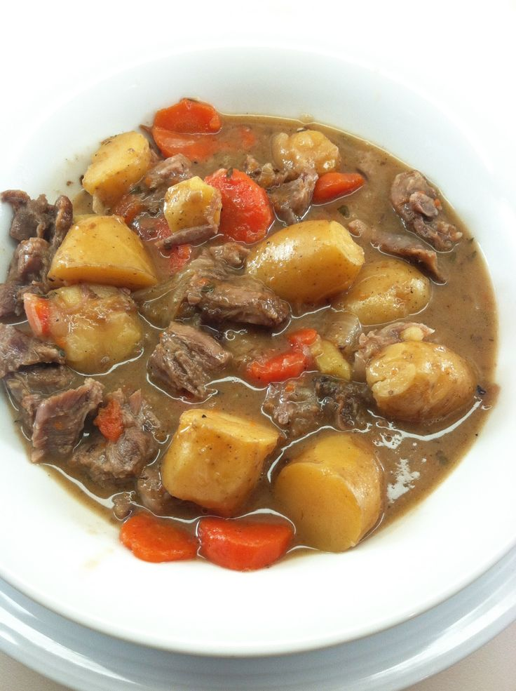Lamb Neck Stew 1. Adapt to aip