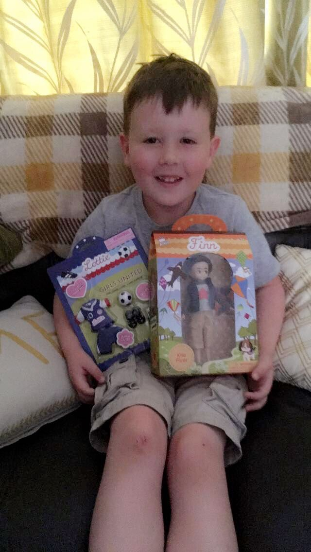My doll called Finn... Lottie Dolls