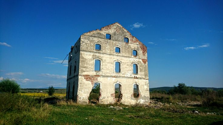 Remains of a water mill, near Huszar Castle, Apalina - Reghin, Mureș County
