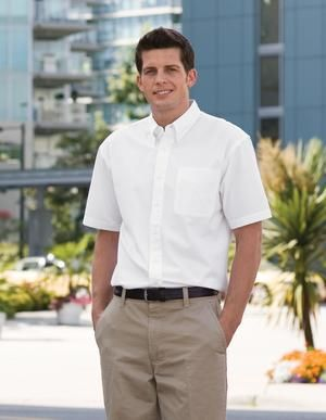 COAL HARBOUR EASY CARE WOVEN SHORT SLEEVE SHIRT. #D510 - For details on how to order this item with your logo branded on it contact ww.fivetwentyfour.ca