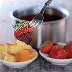 Chocoladefondue van pure chocolade - recept - okoko recepten