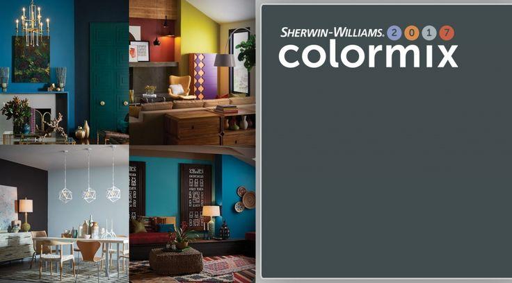 Цветовые палитры Colormix предлагают прекрасные идеи по выбору нового цвета для вашего дома. Каждая из палитр 2017 года состоит из 10 оттенков, прекрасно сочетающихся между собой в различных интерьерных стилях.