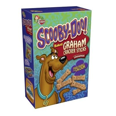Scooby Snacks for dog party!! Scooby Doo Cinnamon Graham Cracker Sticks 11-Oz. and 1-oz packs for favors available at Target