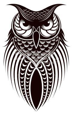 Owl Royalty Free Stock Vector Art Illustration.