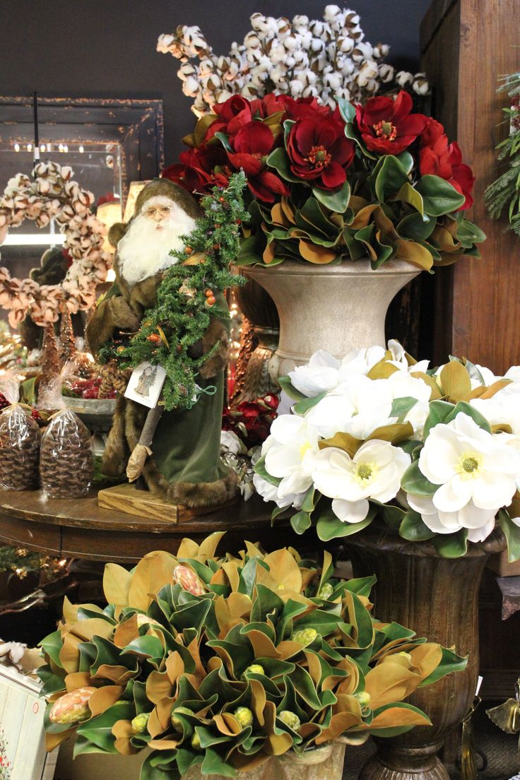 ... River Hill Garden Center By Riverhillgarden. See More. Silks On Display  In Beautiful Earns And Pots To Create Different Heights   The Christmas Shop