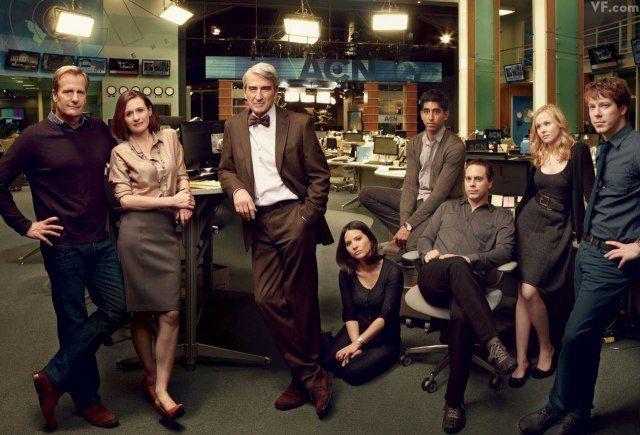 A really smart new show, loving it so far ..Aaron Sorkin's Newsroom: Sneak Peek at the New HBO Show   Hollywood   Vanity Fair