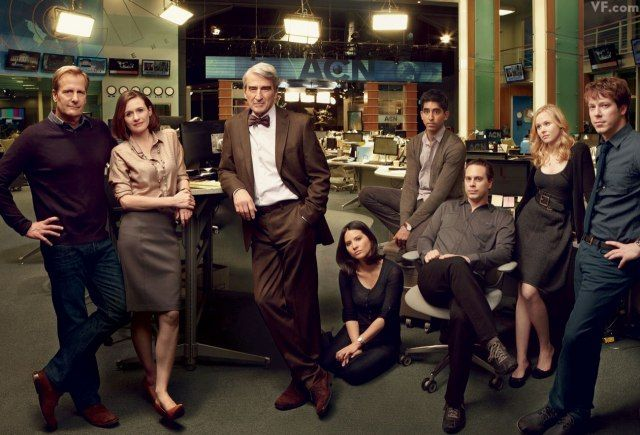 The Newsroom - sometimes it is great; sometimes it's not