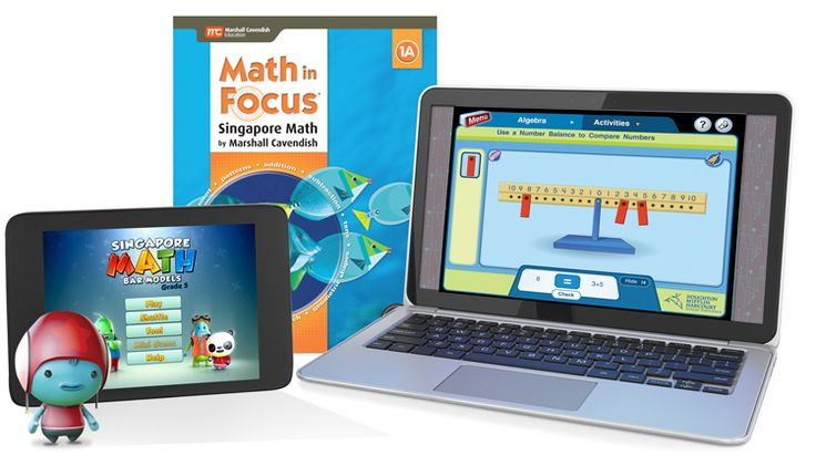 Marshall Cavendish Education's Math in Focus offers robust teacher training to build confidence in those who are unfamiliar with the Singapore Approach.