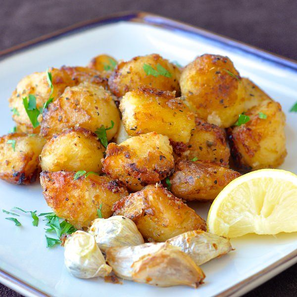 Lemon herb roasted potato nuggets recipe rock recipes for Different ways to cook russet potatoes