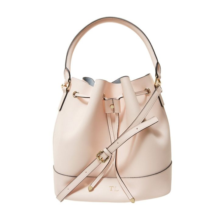 Pale Pink Bucket Bag | The Daily Edited