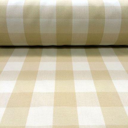 Soft yellow gingham - beautiful fabric.